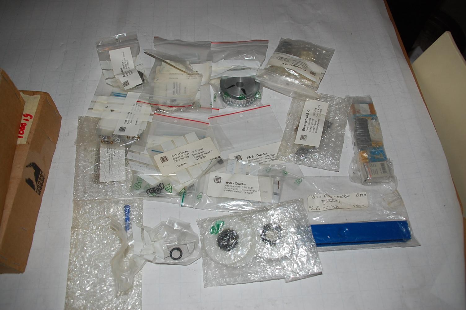 TWS Quadra various spare parts