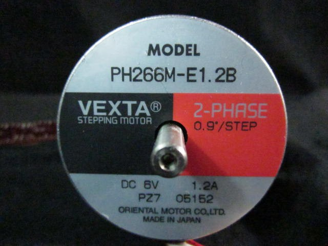 Vexta/OM PH266M-E1.2B 2 phase stepping motor